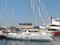 Enjoy Marmaris, TR to the fullest on our comfortable Dufour Yachts Dufour 450 GL