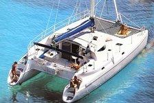 Beautiful 40' catamaran available for charter in Sag Harbor