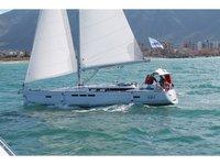 Enjoy luxury and comfort on this Jeanneau Sun Odyssey 519 in Furnari