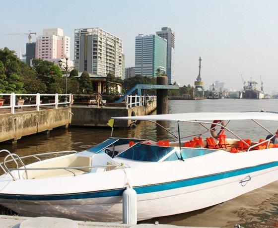 Boat rental in Ho Chi Minh,
