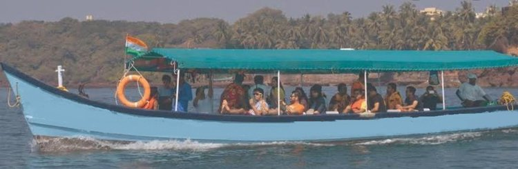 Experience Goa on board this elegant motor boat.