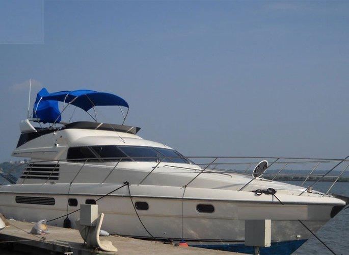 Experience Panjim on board this elegant motor boat boat
