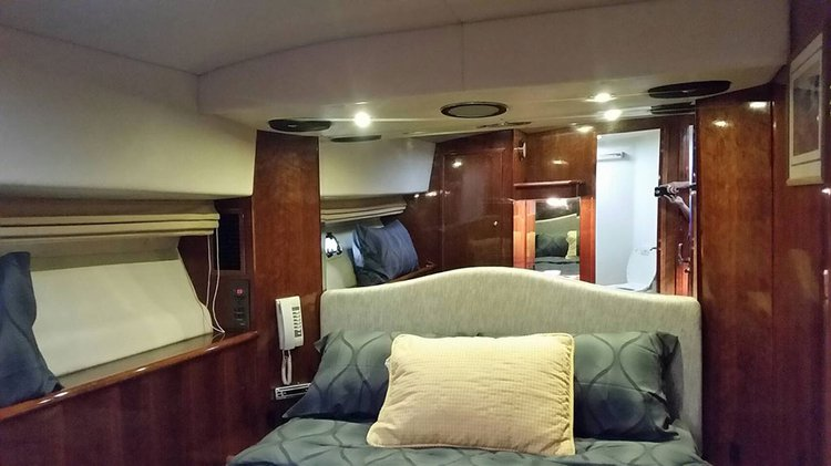 Discover Phuket surroundings on this 50 MY Riviera boat