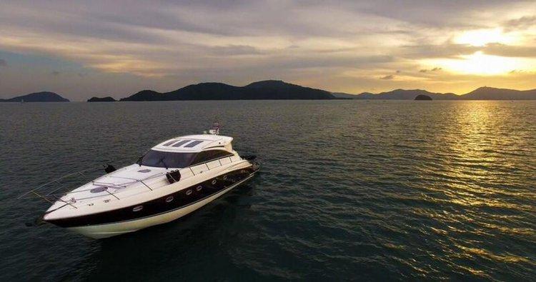 Motor boat boat for rent in Phuket