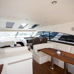 Discover Phuket surroundings on this V56 Princess boat
