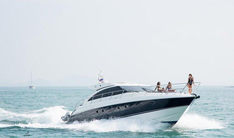 Motor boat boat rental in Boat Lagoon Phuket, Thailand