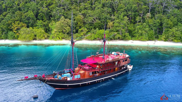Hop aboard this amazing sail boat rental in  Bali
