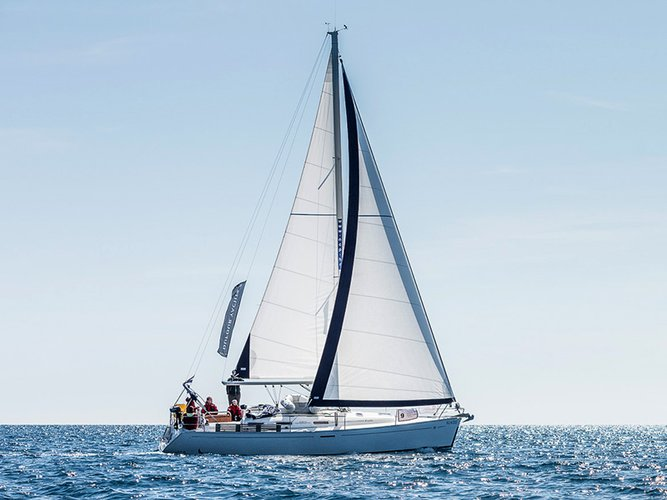 All you need to do is relax and have fun aboard the Dufour Yachts Dufour 385 GL