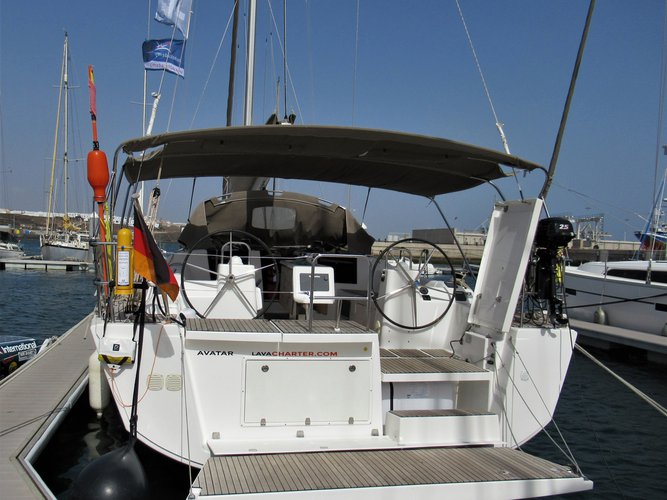 Enjoy luxury and comfort on this Las Galletas sailboat charter