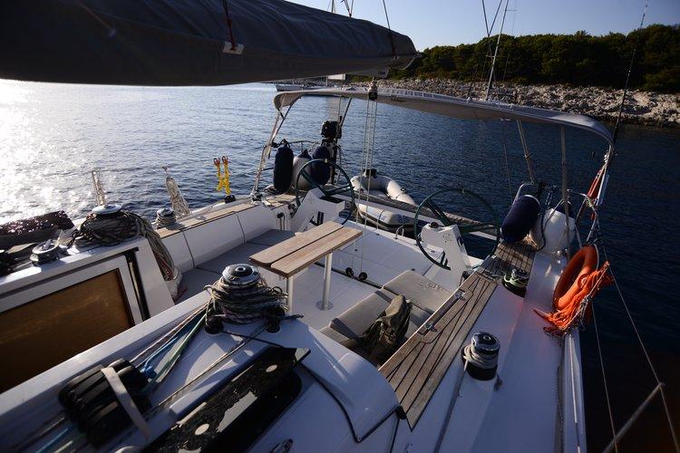 Comfort sailing in St Tropez, Cote d' Azur