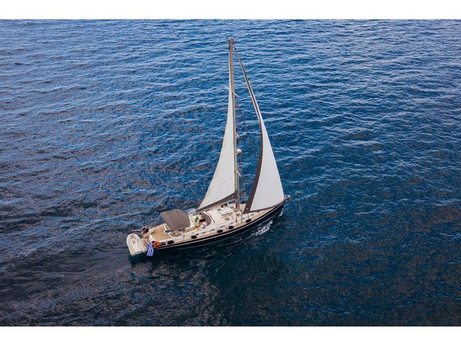 Experience Athens, GR on board this amazing Ocean Yachts Ocean Star 60.1