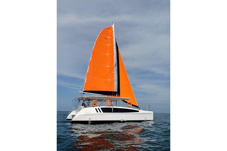 Have fun in the sun on this Vietnam catamaran charter