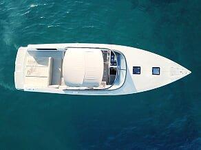 Enjoy cruising aboard this VanDutch 40 Speedboat