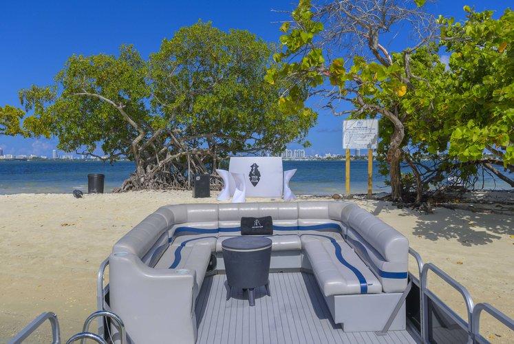 Pontoon boat rental in Sea Isle Marina & Yachting Center, FL