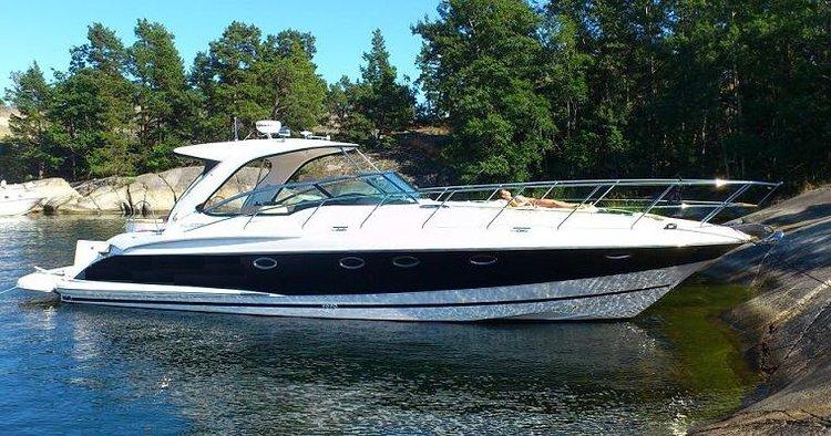 Hop aboard this amazing motor boat rental in Sweden