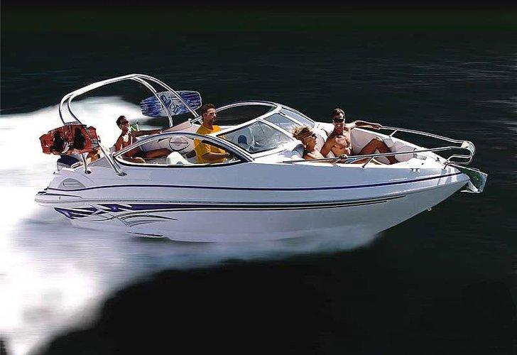 Enjoy luxury and comfort on this Goa motor boat rental