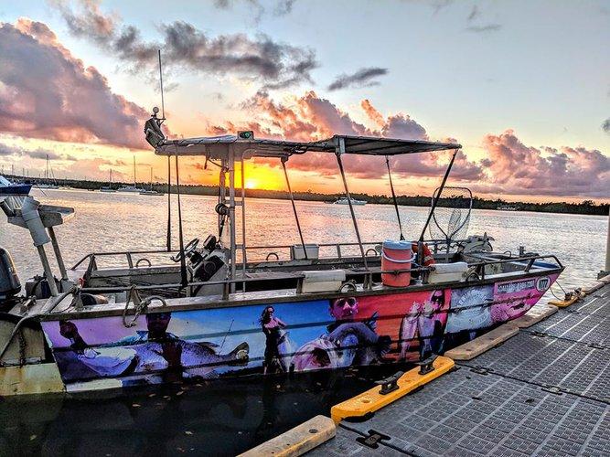 This motor boat rental is perfect to enjoy Darwin