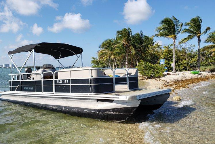Sandbar / Islands party boat  seats 12