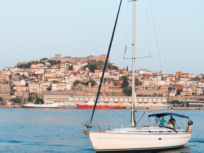 Kavala, GR sailing at its best