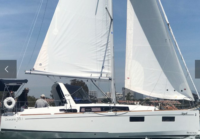 Beneteau's 35.1 feet in Newport Beach