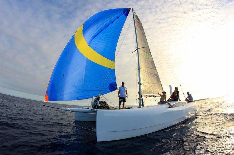 Discover Denarau Island surroundings on this Custom Cuastom boat