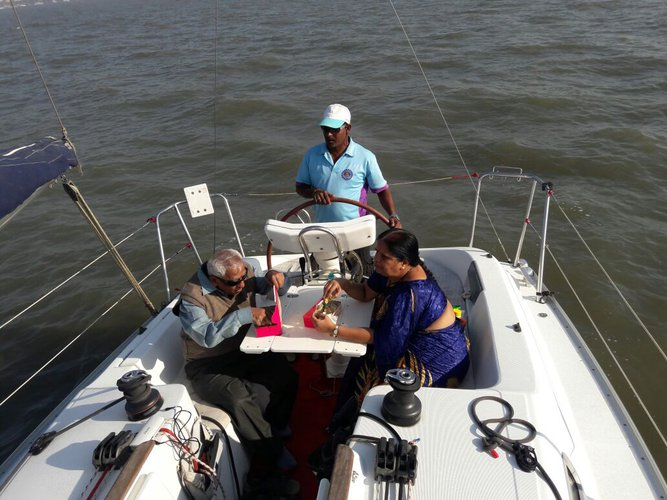 The best way to experience Mumbai is by sailing