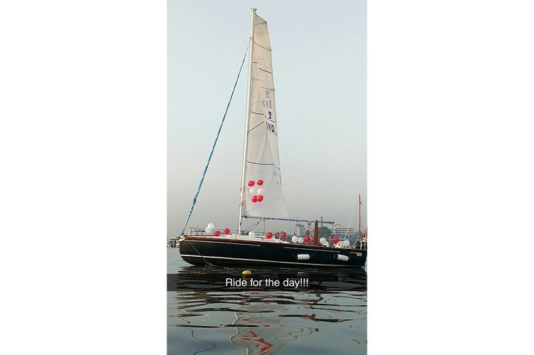 Take this awesome catamaran for a spin.