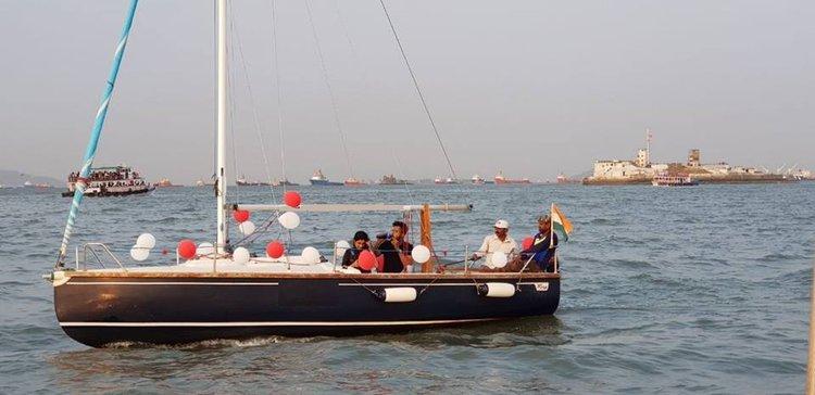 Have fun in the sun on this Mumbai catamaran charter