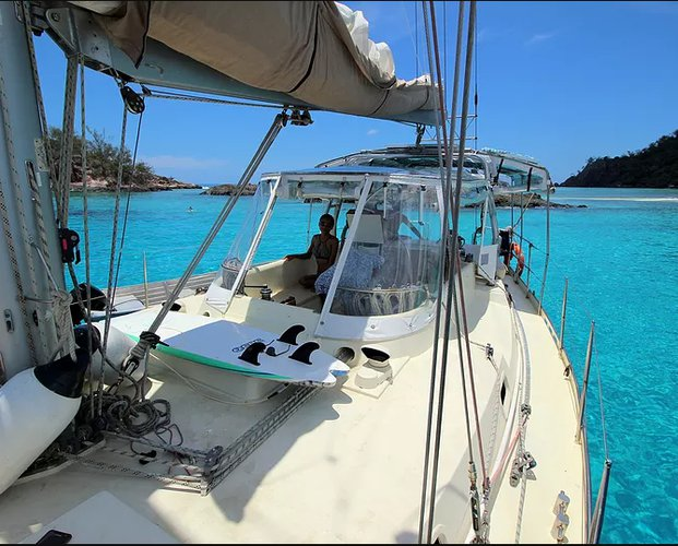 Boating is fun with a Monohull in Nadi