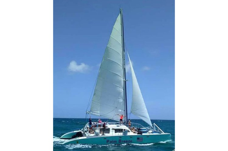 Palm Breeze - Large Party Catamaran in South Florida