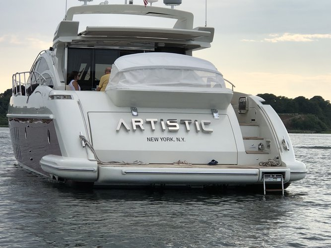 Boating is fun with a Azimut in NYC