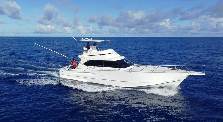 Experience Jean Tac on board this elegant motor boat