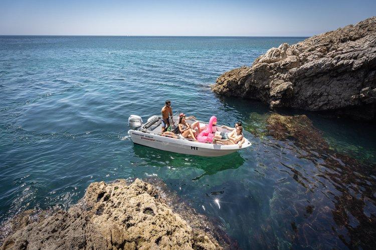 Boat for rent Pioner Maxi 14.76 feet in Marina de Sesimbra, Portugal