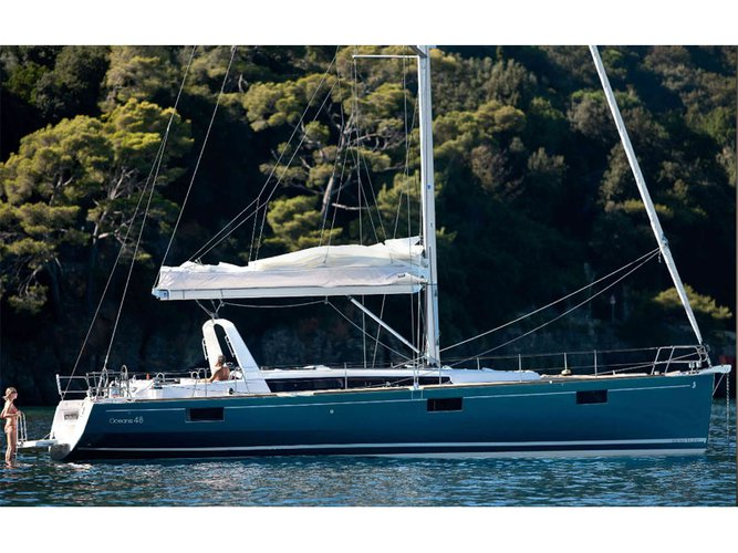 Enjoy Lavrion, GR to the fullest on our comfortable Beneteau Oceanis 48