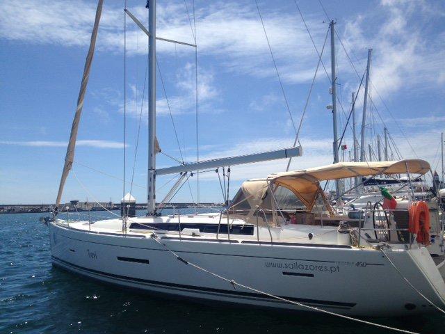 Experience Horta - Azores on board this elegant sailboat