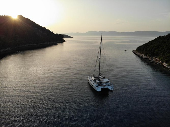 Catamaran boat rental in Marina Kastela, Kastela, Croatia