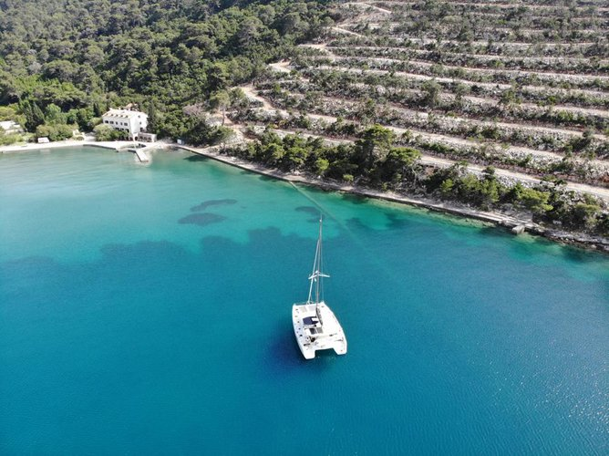Boating is fun with a Lagoon in Split region