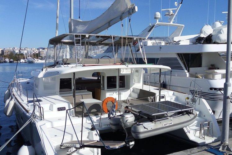 Set sail around Greece on this Beautiful Catamaran