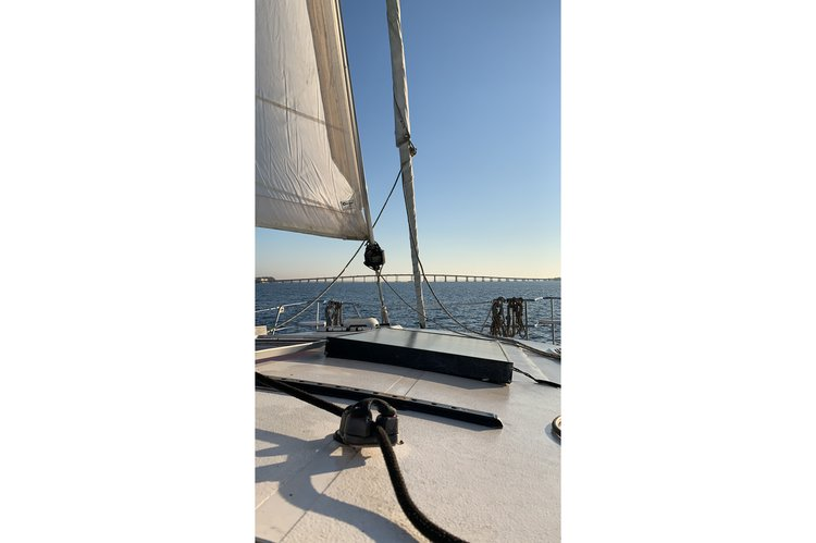 Prout's 34.0 feet in Key Biscayne