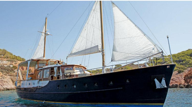 Indulge in luxury aboard this classic motor yacht