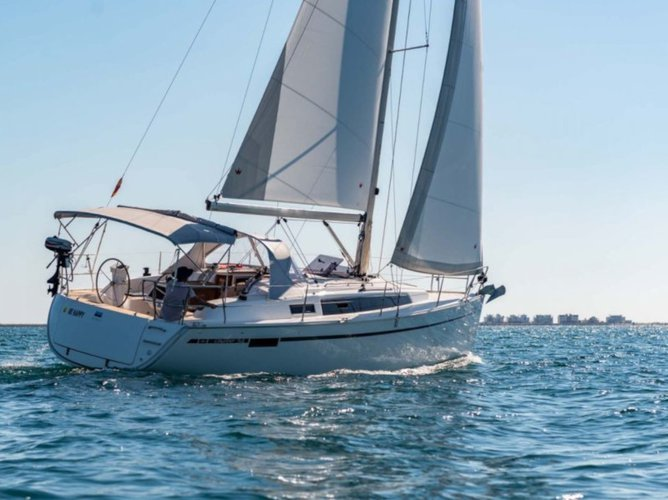 Hop aboard this amazing sailboat rental in Murcia!