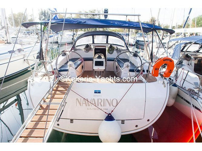 Relax on board our sailboat charter in Rhodes