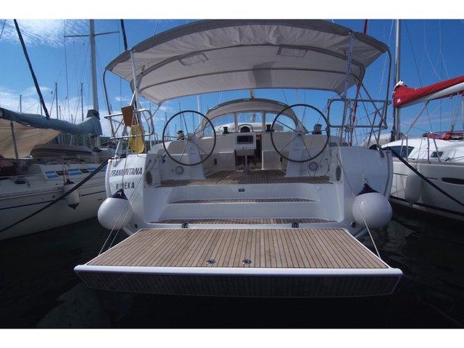 Experience Punat, Krk on board this elegant sailboat