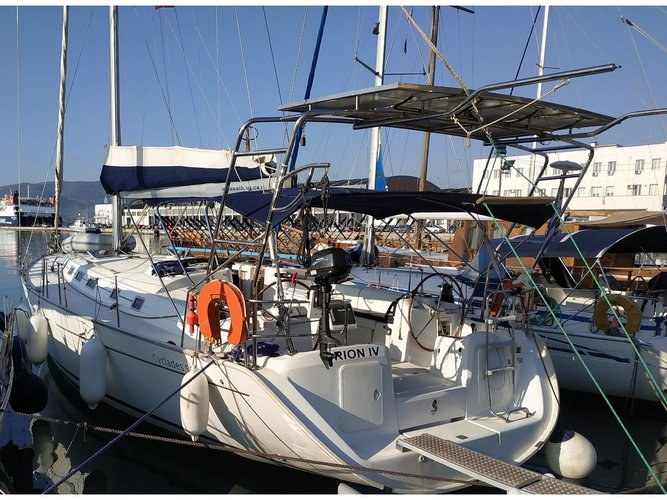Rent this Beneteau Cyclades 50.5 for a true nautical adventure