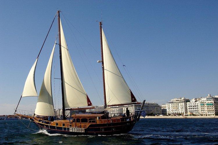 Luxury aboard the Corfu waters!
