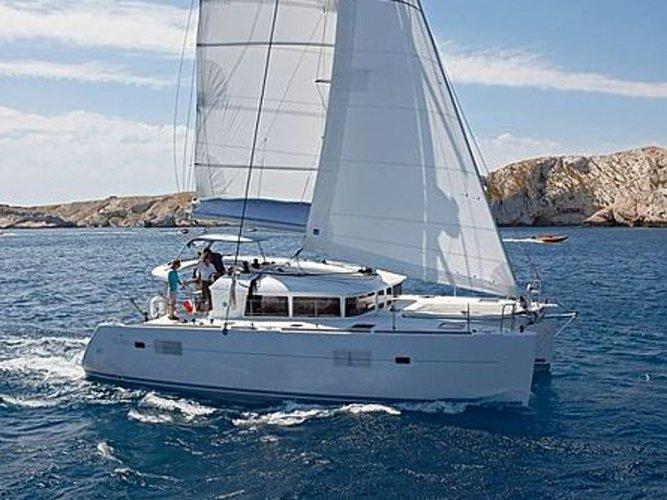 Rent this Lagoon Lagoon 400 for a true nautical adventure