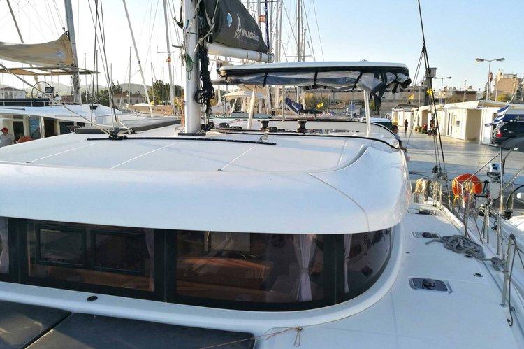 Have fun in the sun on this Laurium sailing catamaran charter