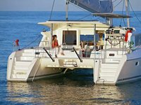 Experience Lisbon, PT on board this amazing Lagoon Lagoon 421