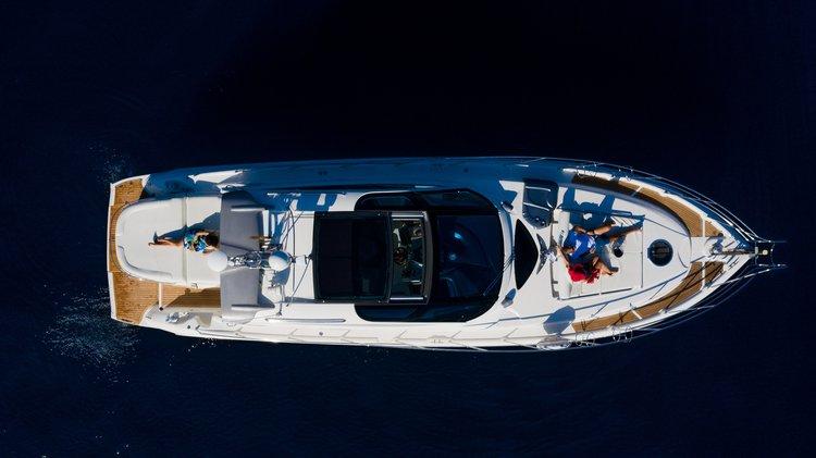 Motor Yacht Cranchi 47 feet rental on the Amalfi Coast