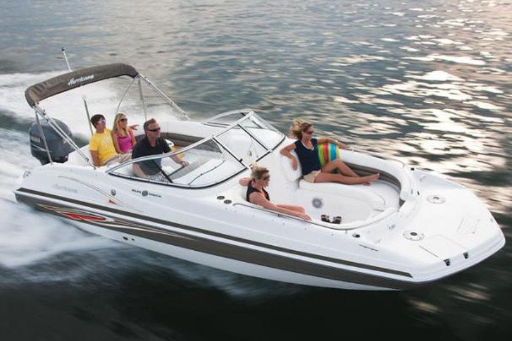 ⭐️ 24' HURRICANE DECK BOAT 200HP - SD237 DUAL CONSOLE MODEL (ST. PETERSBURG) *INSURANCE INCLUDED*